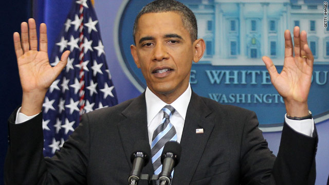 Barack Obama co mówią rece